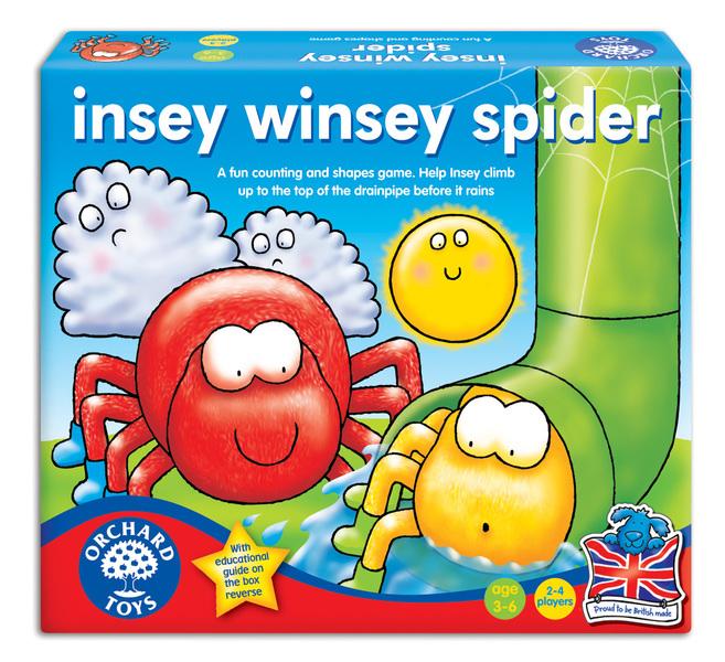 K431069: Insey Winsey Spider