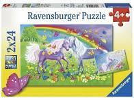 K8241: Rainbow Horses Puzzle