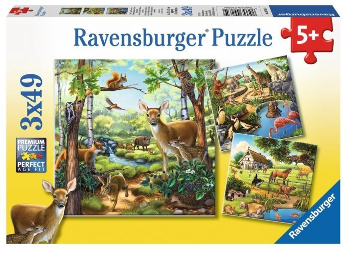 S8219: Forest Zoo and Pets Puzzles