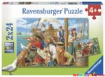 K8369: Pirate Jigsaw Puzzles x2
