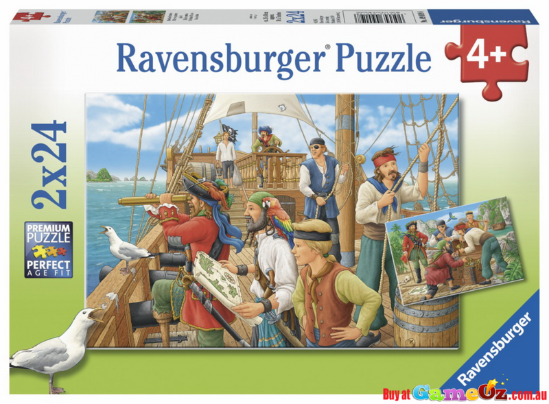 K8370: Pirate Jigsaw Puzzles x2