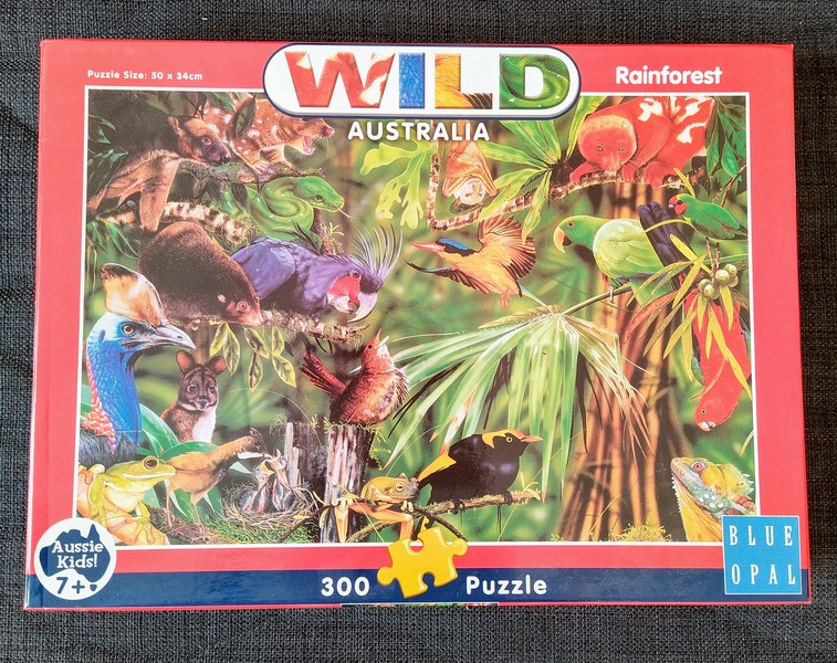 K8291: Rainforest Australia Jigsaw Puzzle