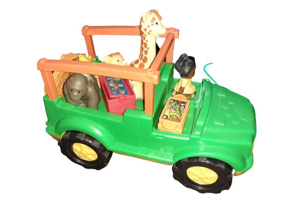 K5524: Little People Safari Car