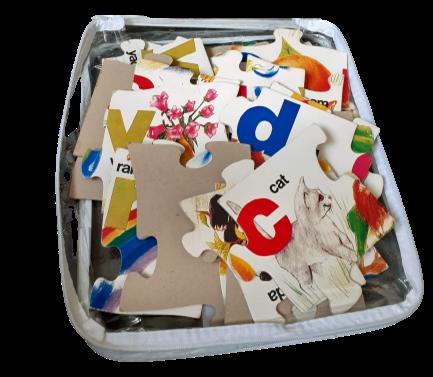 T8302: Giant Alphabet Floor Puzzle