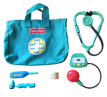 K51005: Fisher Price Medical Kit