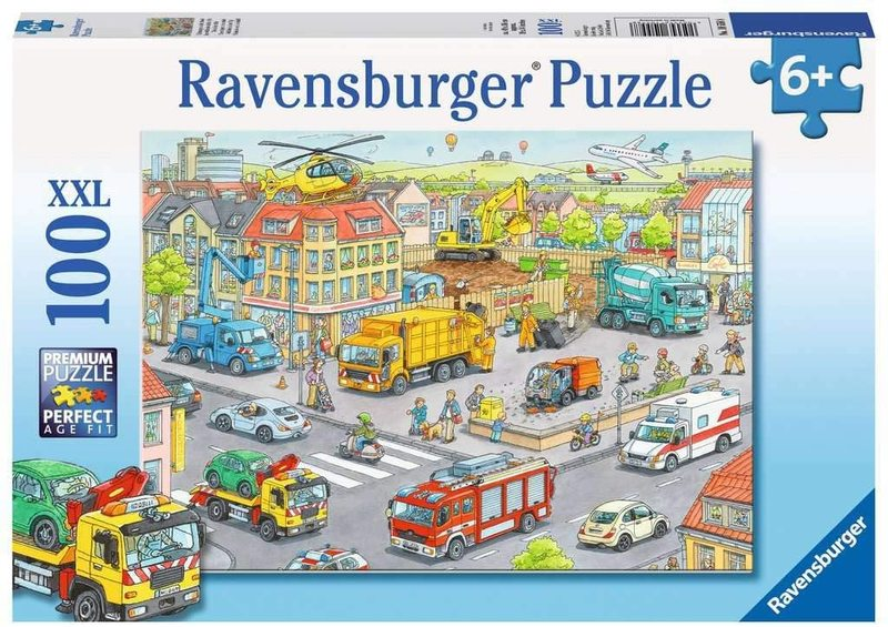 K8239: Vehicles in the City Puzzle
