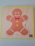 T8101: Layered Gingerbread Person Puzzle
