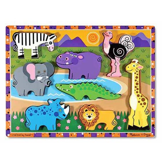 T8223: Safari Animals Puzzle