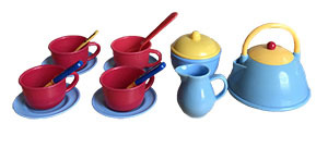K51140: Groovy House Tea Set