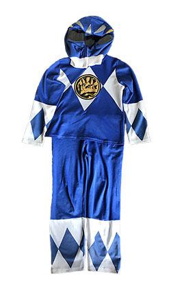 K5211: Blue Power Ranger (size 3-5)