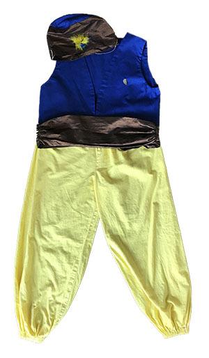 K5238: Aladdin Costume (size 4-6)