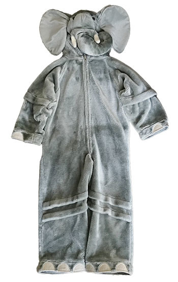 K5256: Dress Up Suit - Elephant