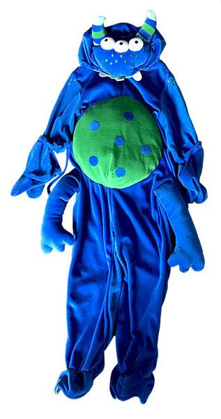 K521320: Blue Monster Costume