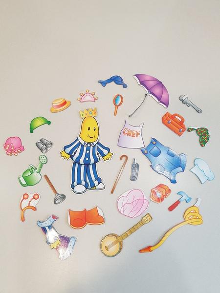 K5351: Bananas in Pyjamas Fridge Magnets