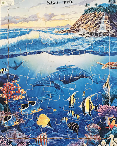 K8211: Ocean Life Jigsaw
