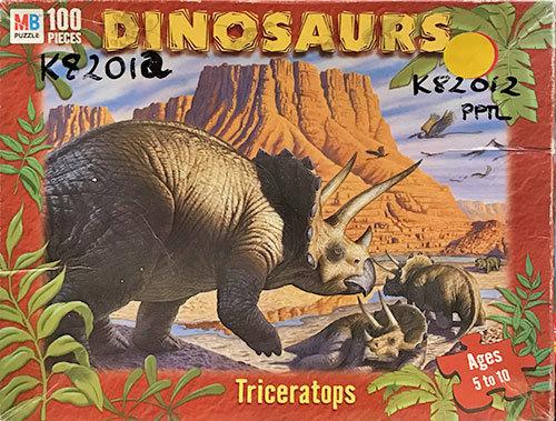 K82012: Dinosaurs - Triceratops