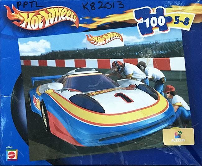 K82013: Hot Wheels 100 Piece Puzzle