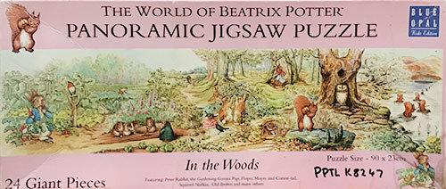 K8247: Beatrix Potter Panoramic Jigsaw Puzzle