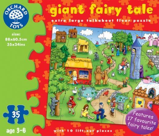 K8293: Giant Fairy Tale Floor Puzzle