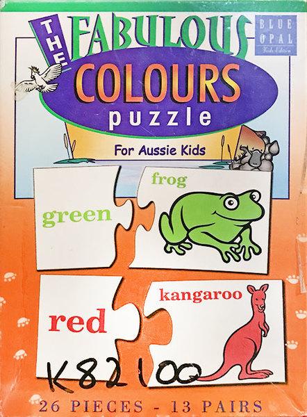 K82100: The Fabulous Colours Puzzle for Aussie Kids