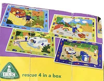 K82226: Four Rescue Puzzles