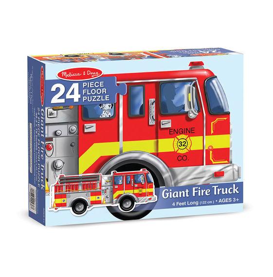 K8306: Giant Fire Truck Floor Puzzle