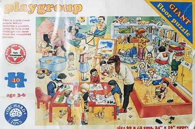 K8321: Playgroup Floor Puzzle