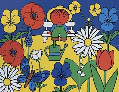 K8323: Miffy in the Garden Puzzle
