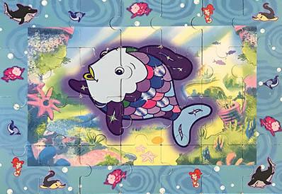 K83136: Rainbow Fish Mega Floor Puzzle