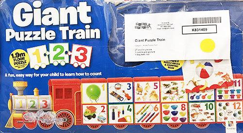 K831409: Giant Puzzle Train