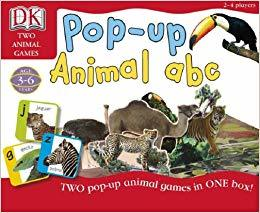 K901414: Pop-up Animal ABC
