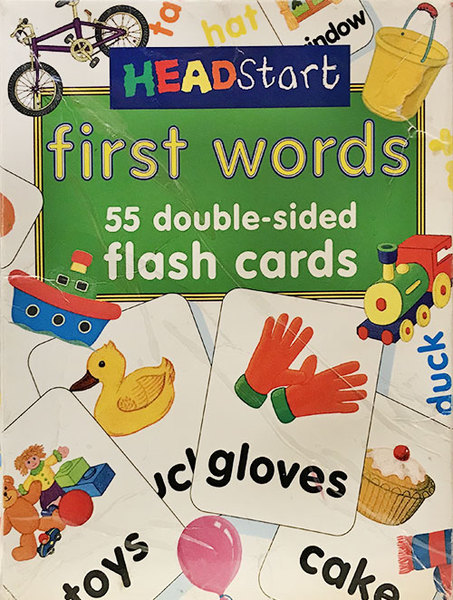 K9511: First Words Flash Cards