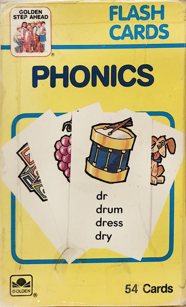 K9512: Phonics Flash Cards