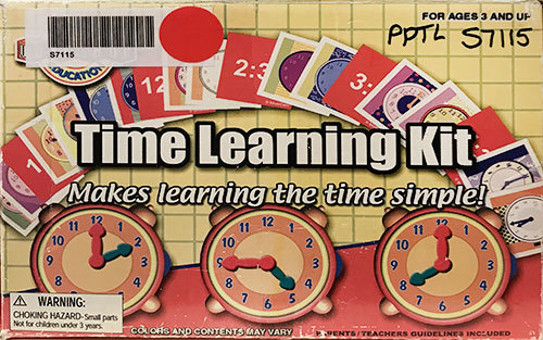 S7115: Time Learning Kit
