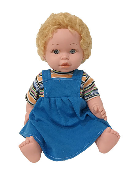 T515168: Dressed Female Caucasian Doll