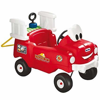 Z1200: Ride On Fire Engine PLUS GREEN WATER TANK(3 week borrow ONLY)