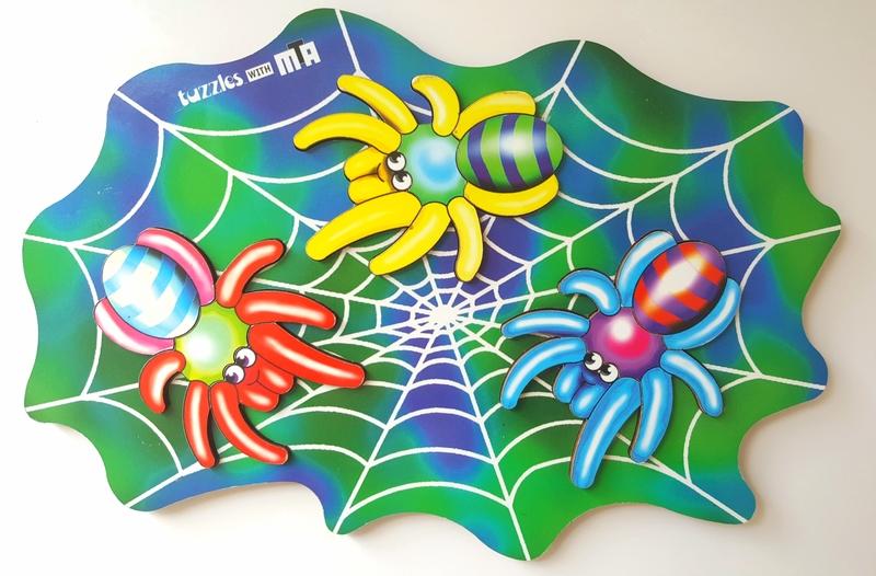P46: Tuzzles Colour Spiders Puzzle