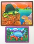 P54: Tuzzles Dinosaurs Set Puzzles