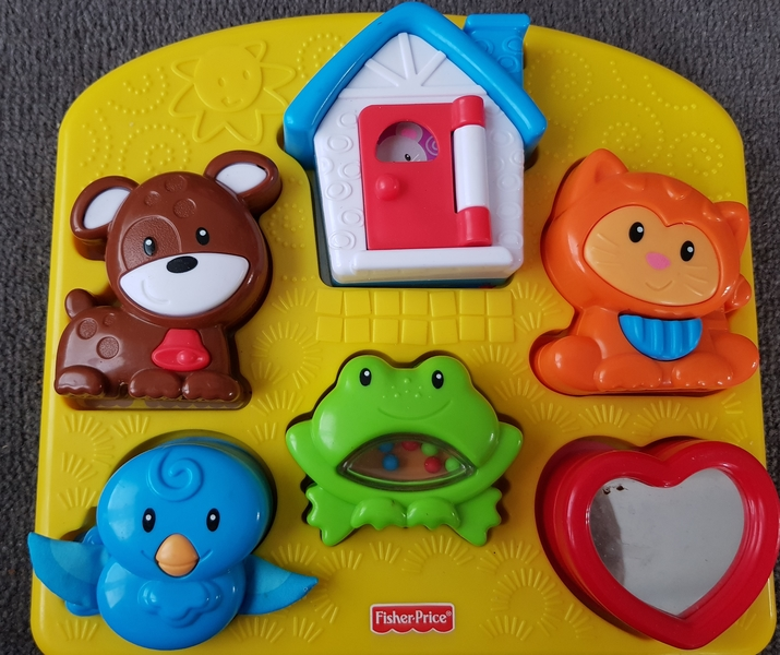 P65: Animal house and heart baby puzzle