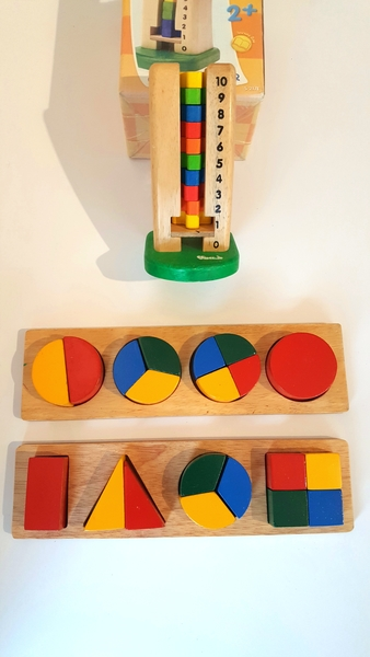E18: Wooden Fractions and Counting Set