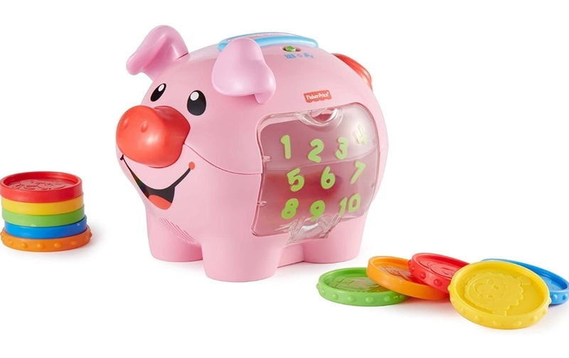 B32: Laugh & Learn Piggy Bank