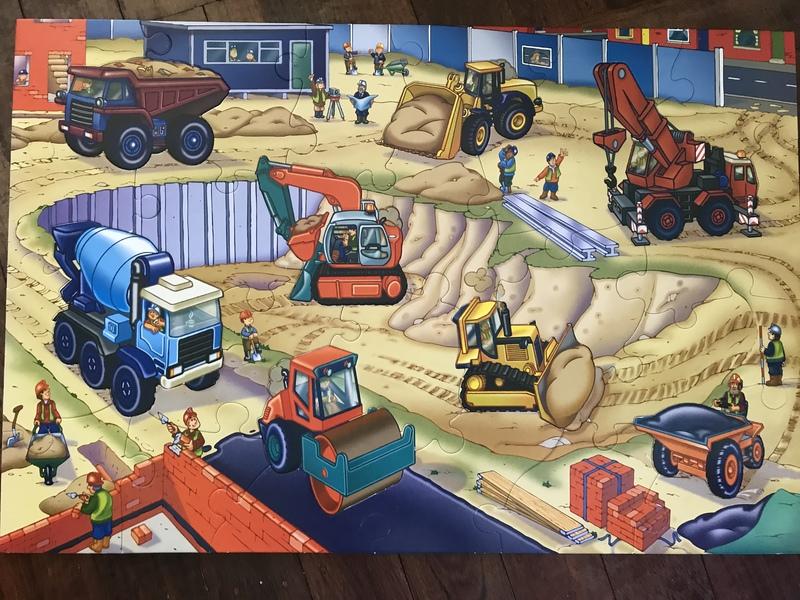 P73: Giant Floor Puzzle Construction Site