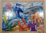 P88: Melissa & Doug Underwater Scene Jigsaw Puzzle