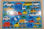 P90: Melissa & Doug Vehicle Jigsaw Puzzle