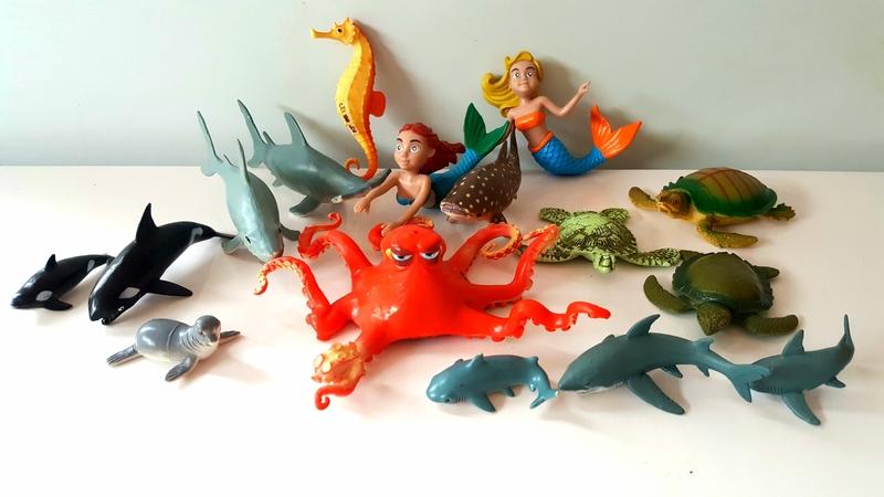 RP127: Mermaid & Ocean Animals Set