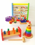 B35: Wooden Toy Set