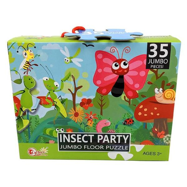P7: Insect Party Jumbo Floor Puzzle