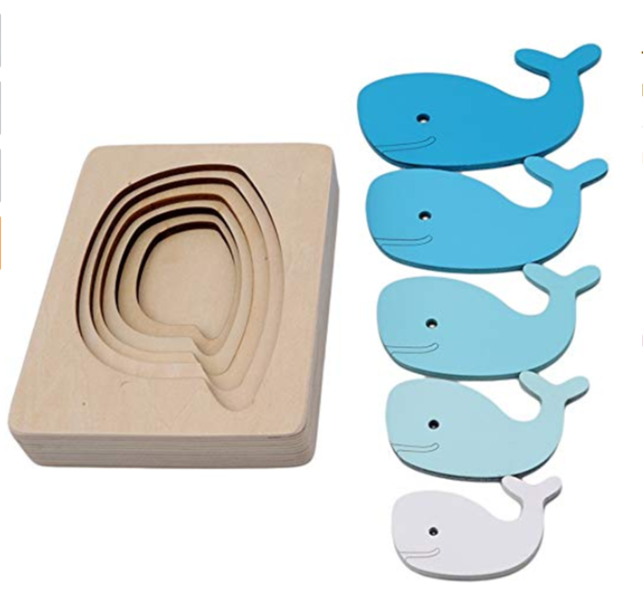 P9: Whale Stacking Sizes Puzzle