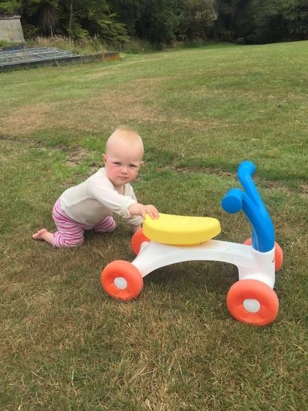 o016: Playskool baby bike