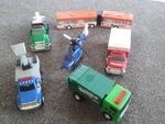 V004: Preschool trucks/heli/bus set